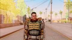 Degtyarev en el exoesqueleto de la Libertad de S. T. A. L. K. E. R. para GTA San Andreas