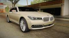 BMW 7-series G12 Long 2016 para GTA San Andreas