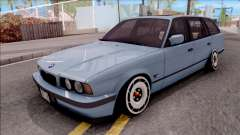 BMW M5 E34 Touring Slammed 1995 para GTA San Andreas