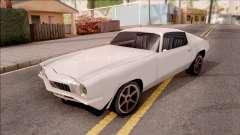 Chevrolet Camaro Z28 1970 SA Style Low Poly para GTA San Andreas