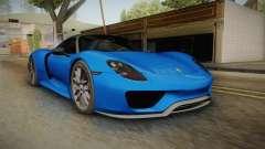 Porsche 918 Spyder Weissach Package 2015 para GTA San Andreas