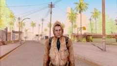 Degtyarev chaqueta novato de S. T. A. L. K. E. R. para GTA San Andreas