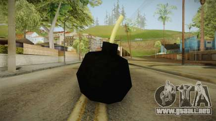 Cartoonish Bomb para GTA San Andreas