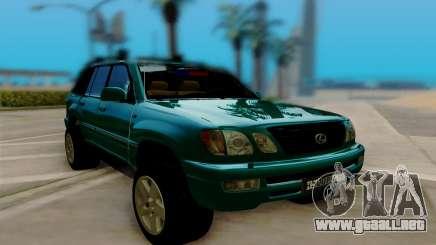 Lexus LX470 FBI para GTA San Andreas