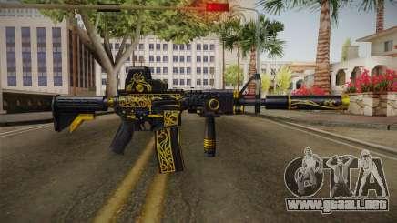 SFPH Playpark - Antique M4A1 para GTA San Andreas