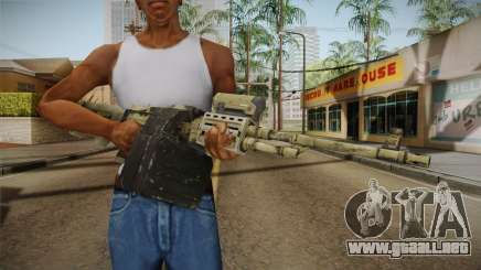 GTA 5 Camo Light Machine Gun para GTA San Andreas