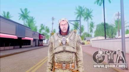 El lobo de S. T. A. L. K. E. R para GTA San Andreas