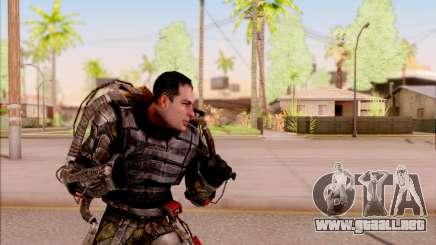Degtyarev en el exoesqueleto de S. T. A. L. K. E. R. para GTA San Andreas