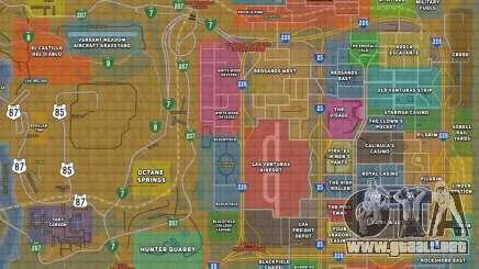 Happy MAP para GTA San Andreas