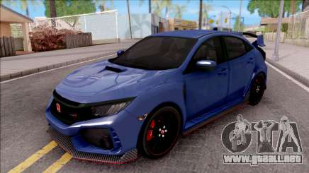 Honda Civic Type-R 2017 para GTA San Andreas