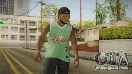 Grove Street Families Remastered Skin 3 para GTA San Andreas