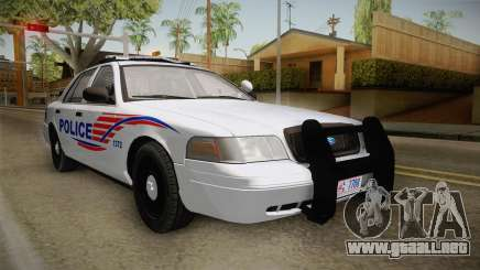 Ford Crown Victoria Police v1 para GTA San Andreas