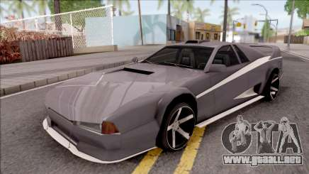 BlueRay Cheetah VX para GTA San Andreas