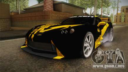NFS Carbon - Chevrolet Corvette Z06 v2 para GTA San Andreas