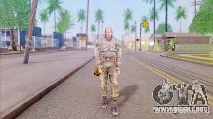 El conductor de S. T. A. L. K. E. R. para GTA San Andreas