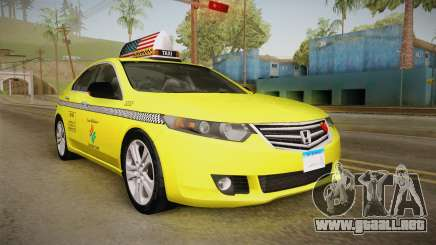 Honda Accord 2010 Taxi para GTA San Andreas