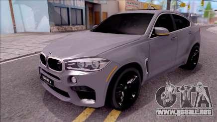 BMW X6M F86 2016 para GTA San Andreas