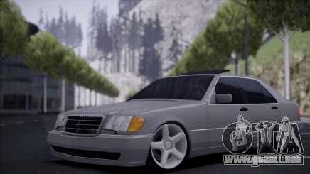 Mercedes-Benz W140 silver para GTA San Andreas