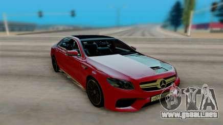 Mercedes-Benz E63 AMG W213 para GTA San Andreas