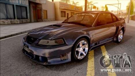 Ford Mustang Saleen 2000 IVF para GTA San Andreas