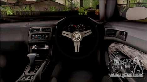 Nissan 200SX Rocket Bunny v3 para visión interna GTA San Andreas