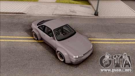 Nissan 200SX Rocket Bunny v3 para la visión correcta GTA San Andreas