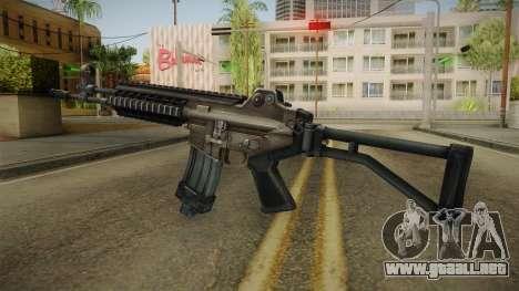 Daewoo DR-200 Assault Rifle para GTA San Andreas segunda pantalla