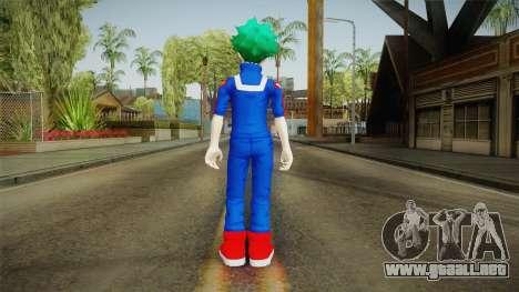 My Hero Academia - Izuku Midoriya v2 para GTA San Andreas tercera pantalla