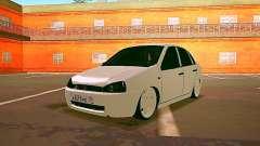Lada Kalina White para GTA San Andreas