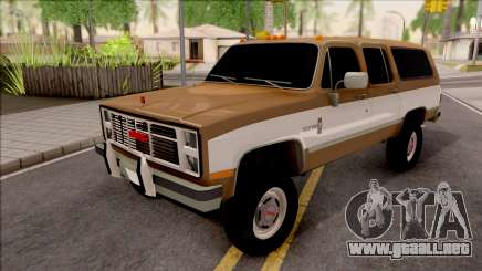 GMC Suburban 2500 1986 para GTA San Andreas