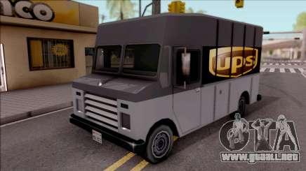 UPS Van para GTA San Andreas