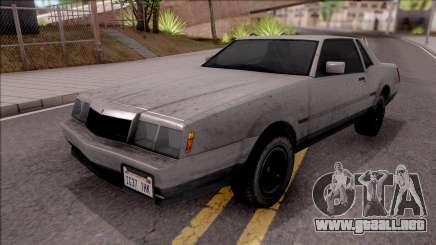 GTA IV Declasse Sabre para GTA San Andreas