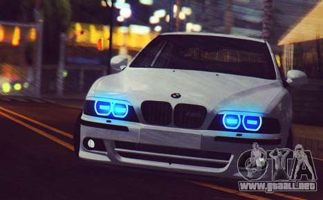 BMW M5 E39 (2017 re-styling) para GTA San Andreas left