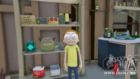 GTA 5 Morty Smith (Rick and Morty) [Add-On] 1.1 segunda captura de pantalla