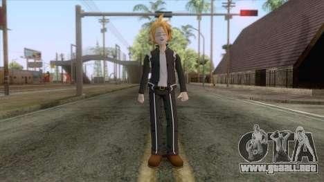 My Hero Academia - Denki Kaminari Suit Hero v2 para GTA San Andreas