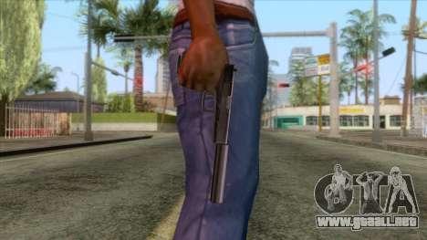 Glock 17 Silenced v1 para GTA San Andreas tercera pantalla