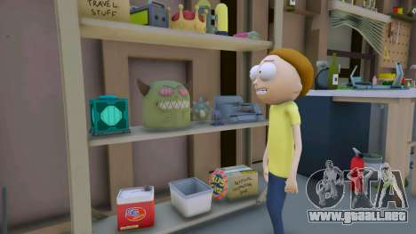 GTA 5 Morty Smith (Rick and Morty) [Add-On] 1.1 tercera captura de pantalla