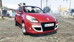 Renault Scenic (JZ) 2009 [replace] para GTA 5