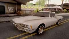 Buick Riviera 1972 Boattail Lowrider Gray para GTA San Andreas