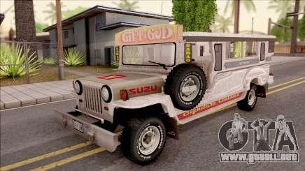 Jeepney Burrito v2 para GTA San Andreas