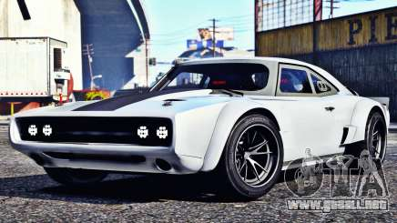 Dodge Charger Fast & Furious 8 para GTA 5