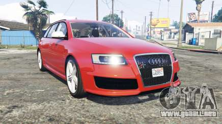 Audi RS6 Avant (C6) [replace] para GTA 5
