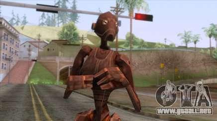 Star Wars - Droid Commander BX Skin para GTA San Andreas