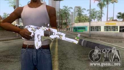 CoD: Black Ops II - AK-47 Kawaii Skin v2 para GTA San Andreas