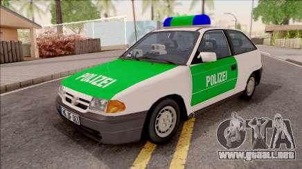 Opel Astra F Polizei para GTA San Andreas