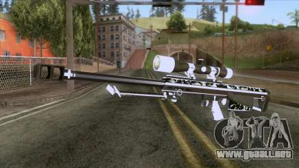 De Armas Cebras - Sniper Rifle para GTA San Andreas