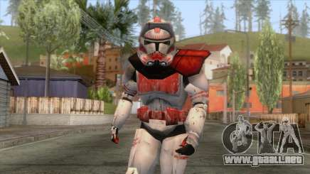 Star Wars JKA - Clone Shock Trooper Skin 2 para GTA San Andreas