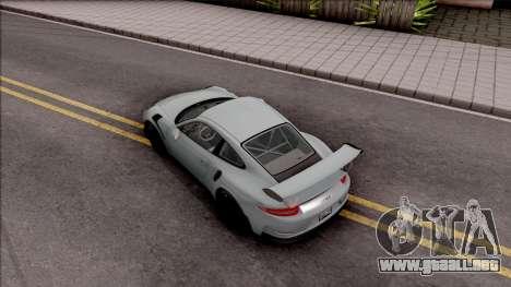 Porsche 911 GT3 RS 2016 SA Plate para GTA San Andreas vista hacia atrás