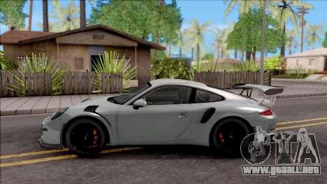 Porsche 911 GT3 RS 2016 SA Plate para GTA San Andreas left