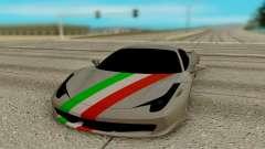 Ferrari Italia 458 para GTA San Andreas